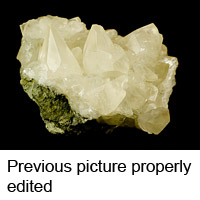 Molybdenite shot with spot<br /> exposure metering used