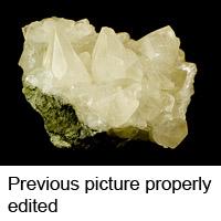 Molybdenite shot with spot<br /> exposure metering used